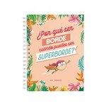 Agenda espiral día página Miss Bordelike Superborde15,5x21,3cm
