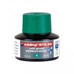 Tinta para rotulador de pizarra blanca Edding BTK25 verde