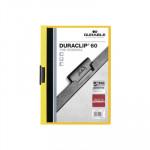 Dossier con clip metálico A4 30 hojas Durable Duraclip 220004