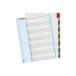 Separadores de cartulina A4 maxi índice númerico con pestañas reescribibles Esselte del 1 al 31