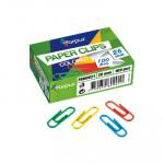 Clips plastificados de colores Forpus 26mm