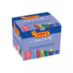 Tiza antipolvo Jovi Classcolor colores, caja de 100