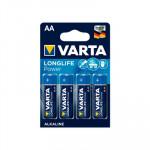 Pila alcalina Varta Longlife Power AA LR06 1.5V