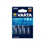 Pila alcalina Varta Longlife Power AAA LR03 1.5V