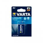Pila alcalina Varta Longlife Power 6LR61 9V