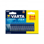 Pila alcalina Varta Longlife Power 4903121472