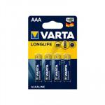 Pila alcalina Varta LongLife 4103101414