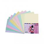 Papel multifunción A4 de colores surtidos pastel Fabrisa