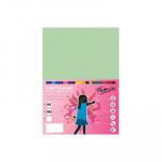 Cartulina de color  A4 Fabrisa verde claro