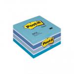 Cubo de notas adhesivas Post-it pastel azul