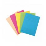 Subcarpeta cartulina reciclada impresas Exacompta Forever 5 colores surtidos (10 por color )