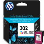 Cartucho inkjet HP 302 tri-color 165 páginas