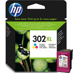 Cartucho inkjet HP 302XL de alta capacidad tri-color 330 páginas