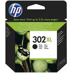Cartucho inkjet HP 302XL de alta capacidad negro 480 páginas