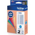 Cartucho inkjet Brother LC-223 Cian 550 páginas LC223CBP