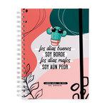 Agenda 2022 Miquelrius Miss Borderlike: Aún Peor Día Página 15,5X21,3Cm Castellano