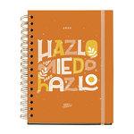 Agenda 2022 Miquelrius Happy Letters: Hazlo Semana Vista 15,5X21,3Cm Castellano