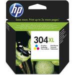 Cartucho inkjet HP 304XL de alta capacidad Tri-color 300 páginas