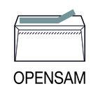 Sobres autoadhesivos americanos 115x225mm para inspección postal Opensam