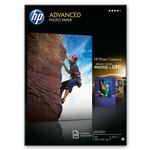 Papel fotográfico inkjet satinado A4 250g HP Advanced