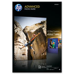 Papel fotográfico inkjet satinado A3 250g HP Advanced