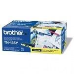 Tóner Brother TN-135 Amarillo 4000 páginas