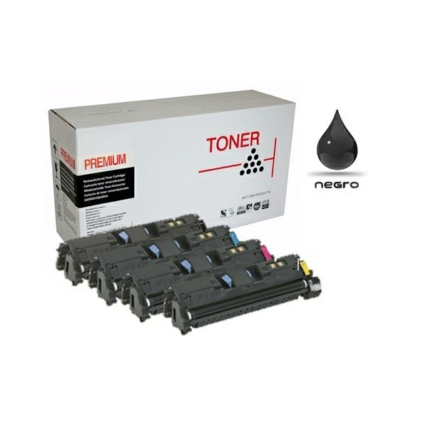 Toner compatible con Brother TN 2320 2.600 páginas Negro TN2320
